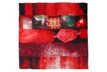 Shawl Heliotrope Silk