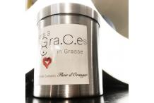 "New Perfumed Candle ""the three Graces in Grasse by Olivier Durbano"" - Orange Blossom"