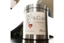 "New Perfumed Candle ""the three Graces in Grasse by Olivier Durbano"" - Rose"