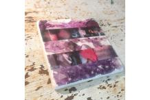 Marble Square Inspiration Amethyst