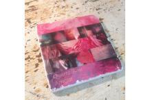 Marble Square Inspiration Rose Quartz