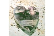 Marble Heart Inspiration Black Tourmaline