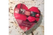 Marble Heart Inspiration Heliotrope