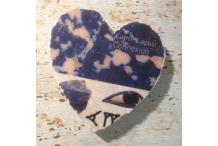 Marble Heart Inspiration Lapis Lazuli