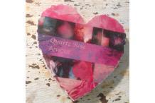 Marble Heart Inspiration Rose Quartz