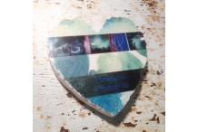 Marble Heart Inspiration Turquoise
